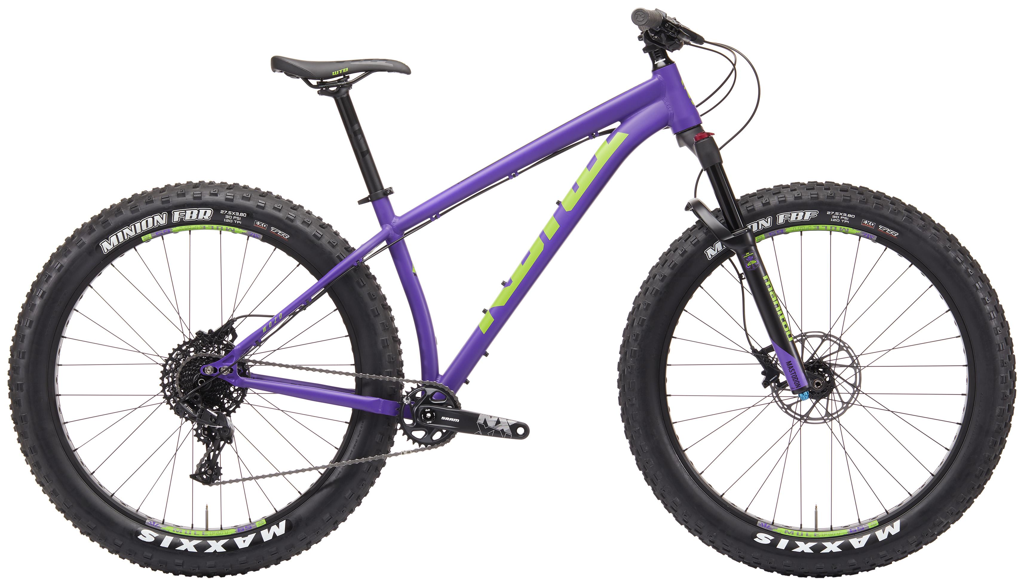 Kona Bikes Mtb Fatbike Wozo